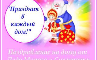 Пожелание от деда мороза. Новогодние поздравления от деда мороза и снегурочки