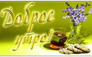 Красивое поздравление доброго утра своими словами друзьям. Приятные пожелания с добрым утром