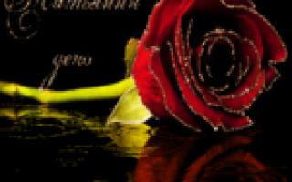 Поздравления с днем татьяны 25 января гифы. Бесплатные открытки и поздравления на татьянин день