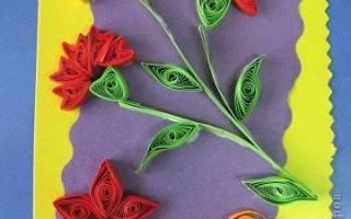 Простая открытка на 9 мая с детьми. Поздравительные открытки, нарисованные по шаблону. Как сделать поздравление с голубем мира в технике квиллинг
