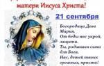 Стихи поздравления с рождеством пресвятой богородицы. Поздравления с рождеством пресвятой богородицы в прозе