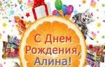 Красивые и прикольные поздравления алине с днем рождения. Поздравления с днем рождения алине