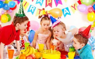 Детский стишок у меня сегодня день рождения. Детские поздравления с днем рождения