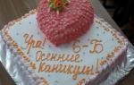В одной из школ Харькова ученице принципиально не дали кусочек торта-сюрприза со сладкого стола. Теперь все это обсуждают. Поздравления на выпускной девятиклассников