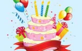 С днем рождения на телефон музыкальное. Музыкальные поздравления с днем рождения на телефон